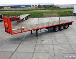 Plattform Auflieger Pacton T3-001 2002