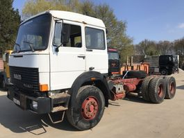 chassis cab truck Iveco Magirus 320 320-26 6x4 **FRENCH TRUCK-CLEAN TRUCK** 1984