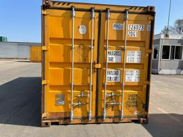 hard top shipping container Vernooy 20ft gebruikte half highcube en palletwide 126023
