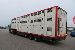 Viehauflieger Menke Janssen 3-3 stock/ load moving/ drink/water(new oill pomp system and new battaries) 2003