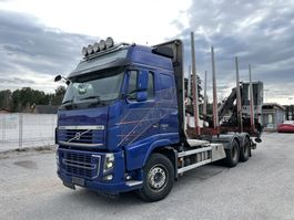 timber truck Volvo FH16 6x4, Euro 5 EEV, Retarder, + Loglift 96S, 2013 2013