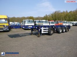 Container-Fahrgestell Auflieger Dennison 4-axle container combi trailer (3 + 1 axles) 20-30-40-45 ft 2008