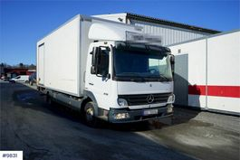 closed box truck Mercedes-Benz Atego 818 818L box truck 2007