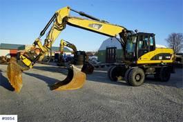 wheeled excavator Caterpillar M318D w / rotor tilt & 2 buckets 2007