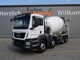 concrete mixer truck MAN TGS 32.360BB, Euro 6 2015