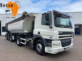 tipper truck > 7.5 t DAF CF 85 .460 (TRUCK + TIPPER TRAILER) Manual-gear 2009