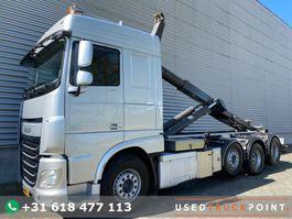 container truck DAF XF 460 SC / 8X2 / 25T VDL Hook / Euro 6 / Automatic / NL Truck 2016