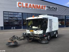 Road sweeper truck Ravo 580 EURO 5 with 3-rd brush 2010