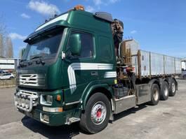 tipper truck > 7.5 t Volvo FM12 8X4 TIPPER + HMF 2223 K5 MET REMOTE 2001