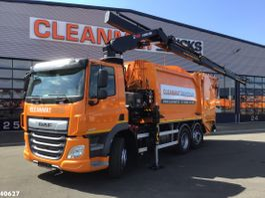 garbage truck DAF CF 340 FAN 2021