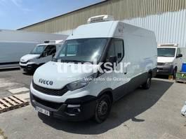 refrigerated closed box lcv Iveco 35S13 2015