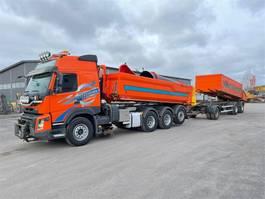 tipper truck > 7.5 t Volvo FMX 460 8x4 tridem EURO-6 2014