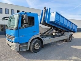 container truck Mercedes-Benz Atego 1218 Containerhaaksysteem Euro4 2008