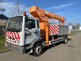 mounted boom lift truck Renault Midlum 180 40 ACJ2  RUTHMANN T225 1999