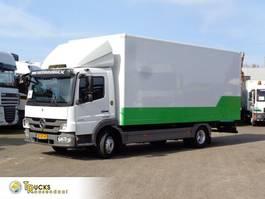 closed box truck Mercedes-Benz Atego 816 + Euro 5 2012