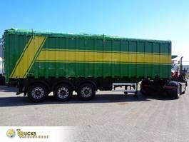 tipper semi trailer LAG S/00086 + 3 AXLE + KIPPER + 44 CUB 2003