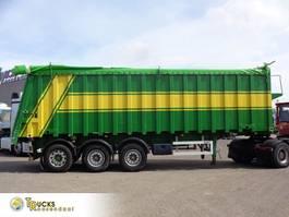 tipper semi trailer LAG 39 KHSL + 3 AXLE + 44 KUB 2002