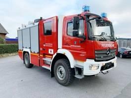 ambulance lcv Mercedes-Benz Atego 1327 AF 4x4 Atego 1327 AF 4x4, Rosenbauer LF-KatS