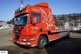 tow-recovery truck Scania P320 tow truck 2017