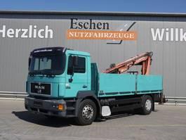 drop side truck MAN Pritsche, Atlas 125.1 1998