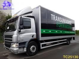closed box truck DAF CF 65 250 Euro 4 2009
