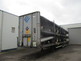 Fahrgestell Auflieger LAG 5 Stack Mega trailers , 3 BPW Axles , 2 driving positions , Drum brakes ... 2010