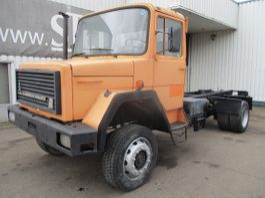 chassis cab truck Iveco Magirus M 90 M FL , V6 , 4x4 , Manual , Spring Suspension 1982