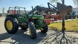 farm tractor John Deere 2650 4WD met Frontlader 1990