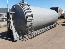 Tankcontainer Peecon 17000 lt. stalen tank