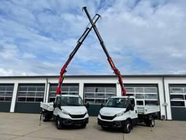 camion à benne basculante > 7.5 t Iveco HMF 340-K3 DAILY 72C18 MEILLER KIPPER KRAN FUNK GREIFERSTR  NEUFAHRZEUG 2021
