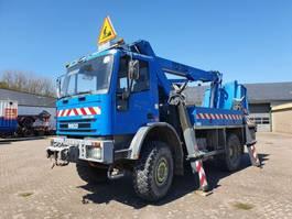 closed box truck Iveco EuroCargo 135E23 4x4 1998