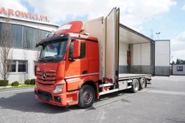 refrigerated truck Mercedes-Benz Actros 2551 , E5 , 6x2 , 18 EPAL , height 3M , full side opening 2014