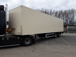 closed box semi trailer Netam-Fruehauf ONCRK 30-218A 2000