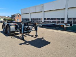 Container-Fahrgestell Auflieger York Container chassis 20ft. / Full Steel 1990