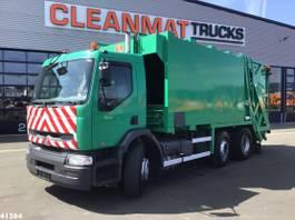 garbage truck Renault Premium 320 26 Manual 20m3 2004