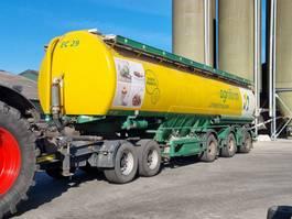 Siloauflieger Wijnveen 32 ton bulkwagen + dolly 1999