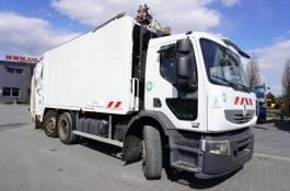 garbage truck Renault Premium 320 320DXI , E5 , 6x2 , SEMAT 21m3 , steer axle , 3-seats ca 2010