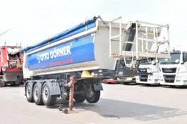 tipper semi trailer Meiller MHPS 12/27 NOSS1 24³ Liftachse 2014