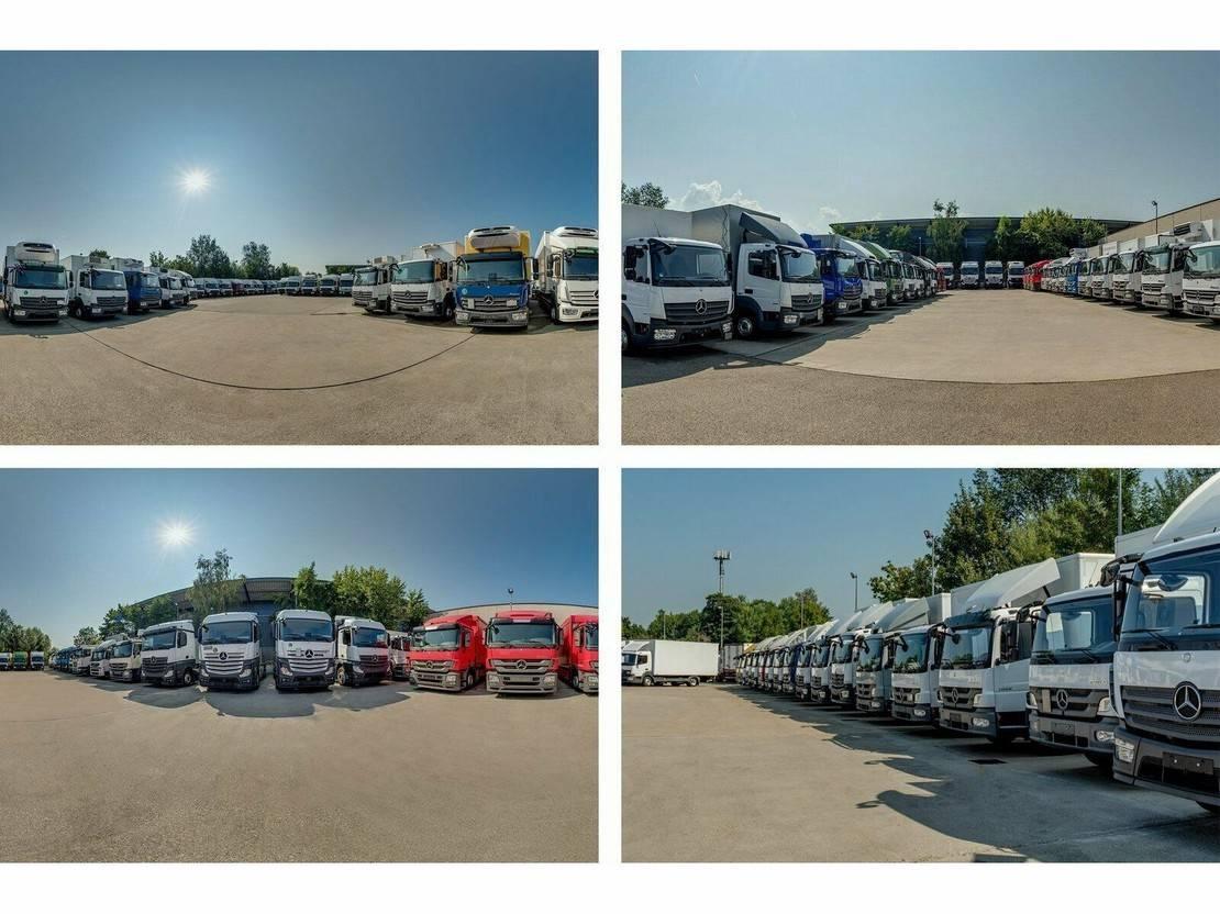Pritsche / Plane LKW Mercedes-Benz Atego 818 L Pritsche/Plane 6,10 m LBW 1 to.*2017 2017