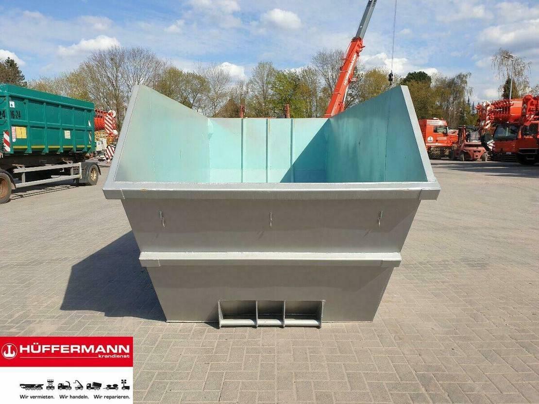 Container-LKW Mercedes-Benz Prüfert / Absetzmulde 10 m³ asymmetrisch offen 2021