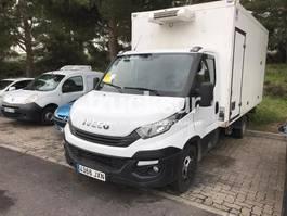 refrigerated closed box lcv Iveco 35C16 2017
