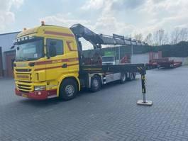 crane truck Scania G 440 8 X 2 - HMF ODIN 6020 2011