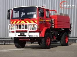 fire truck Renault Midliner 180 M180 4x4 -Feuerwehr, Fire brigade -4.000 ltr watertank - Expeditie, Camper 1997