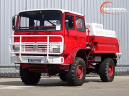 fire truck Renault M180 4x4 -Feuerwehr, Fire brigade -3.500 ltr watertank - Expeditie, Camper 1994