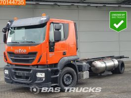 chassis cab truck Iveco Stralis 330 4X2 Hi-Street LNG Manual Intarder 2x Tanks ACC 2017