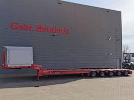 semi lowloader semi trailer Goldhofer STZ-L5-52/80 Powersteering 9 M Extand. Winch Traintrailer! 2002