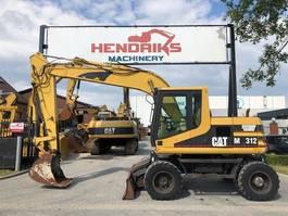 wheeled excavator Caterpillar M312 2000