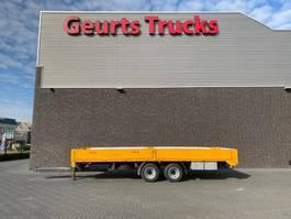 drop side full trailer Fliegl TPS 135 2 ASSIGE OPEN AANHANGER/MACHINE AANHANGER/DOPPELACHSE 2007