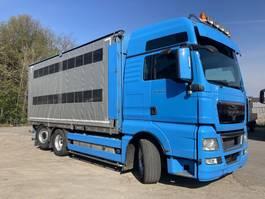 livestock truck MAN TGX 26 6x2 BL-XXL Lift-Lenk Rolgordijn 2013