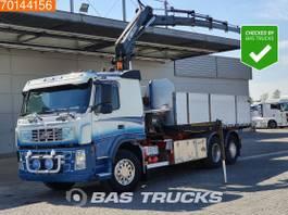tipper truck > 7.5 t Volvo FM 6X2 Crane Kran Hiab 220-5 B Liftachse Xenon 2003